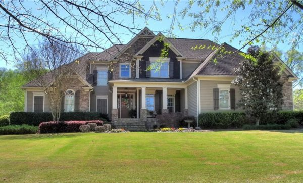 Cartersville GA Home In The Waterford Neighborhood